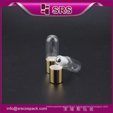SRS colorido quente venda alta qualidade vazio óleos essenciais garrafa de vidro