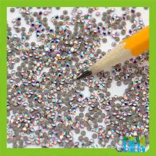 Classifique um cristal da corte da máquina da qualidade de vidro 144 PCes 1 Chatons grossos do cristal de rocha