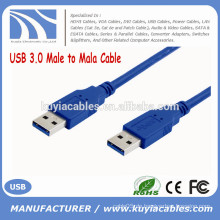 High Speed ​​Kabel USB 3.0 Stecker auf Stecker M / M Cord 0.35m 0.5m 1m 1.5m 2m 3m 5m