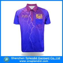 Men′s 2016 New Design Sublimated Polo T Shirt Wholesale