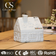 Lámpara de mesa antigua de la forma de la casa llevada del proveedor de China