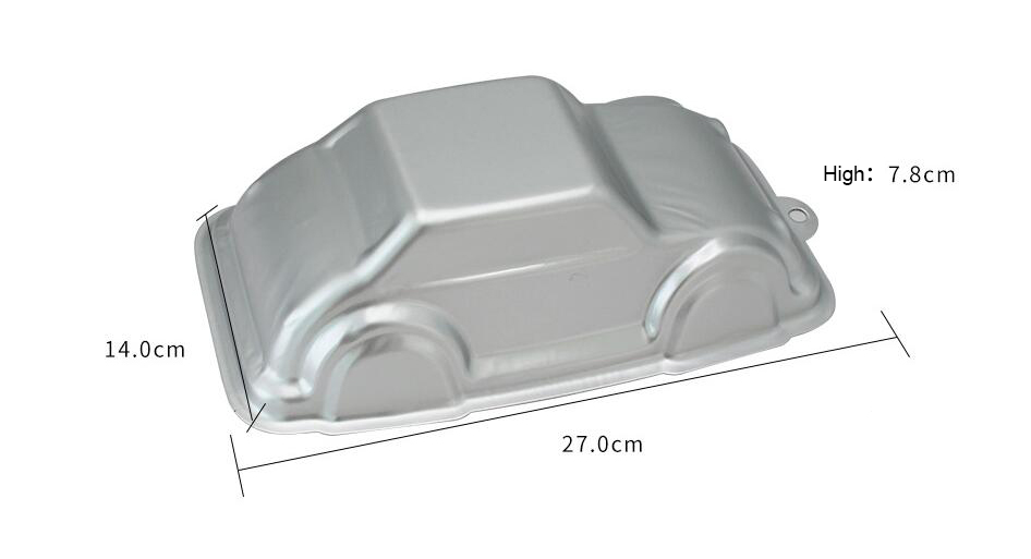 Aluminum Alloy Car Shape Cake Baking Mould (14)