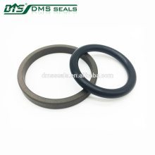 High Chemical Resistance Bronze PTFE Rod Seal for Hydraulic Cylinder