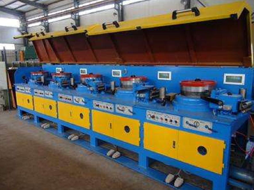 Straight Line Type Wire Drawing Machine