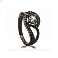 Модные черные медные украшения женские украшения ключ кольцо для леди