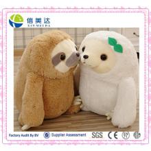 Cuddly árvore preguiça pelúcia brinquedo de brinquedo macio brinquedo para crianças