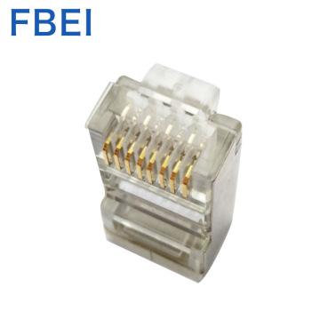 Connettore di vendita calda Connettore RJ45 Cat6 STP