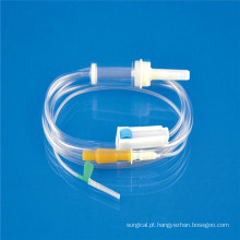 Conjunto de Transfusão de Sangue Médico em PVC