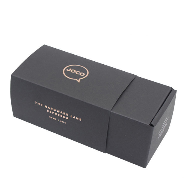 High Quality Shoes Shipping Packing Black Corrugated Box