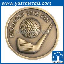 personalizar medallas de golf de deporte sólo decir imagen de muestra