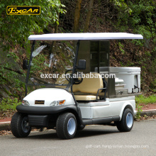 Wholesale electric vehicle 48V food cart 2 seats hotel buggy car