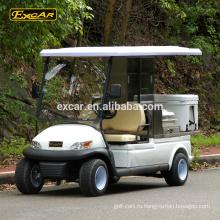 Оптовая электрический автомобиль корзины продуктов питания 48В 2 места отель багги