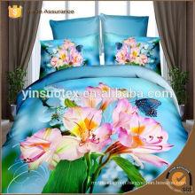 modern reactive printed 80gsm microfiber comforter bedding sets