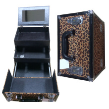 Wholesale Leopard Cosmetic Case Carry-on
