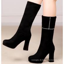 Raue Fersen Stiefel High Heels Stiefel