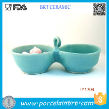 Double Serving Bowl Water and Food Pet Accessories Wholesale China