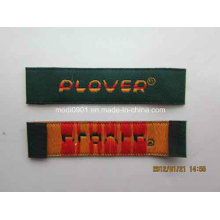 Embroidery Custom Woven Label for Fashion Dress Garment