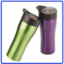 Stainless Steel 100% Leak Proof Car Mug, Travel Mug (R-8049)