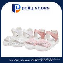 2016 novo design peep toes sapatos para crianças