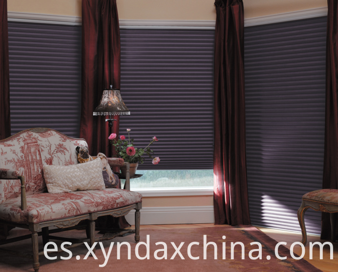 cordless pleated blinds