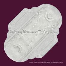 almofadas sanitárias do dia cottony do softness da pérola para mulheres
