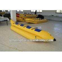 (CE) PVC material inflável Banana barco para venda
