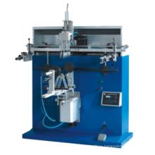 Круглый пластиковый ведровой принтер полуавтоматический автомат для трафаретной печати