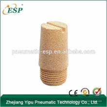 China silenciador de cobre amarillo del hilo BSLD del silenciador del hilo de las colocaciones de cobre amarillo de alta calidad del escape del aire del metal