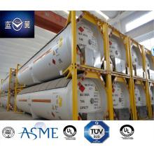 51000L 40FT 22 бар давление углерода Сталь СНГ танк-контейнер, одобрено ASME U2
