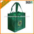 Senior quality laminated non woven bag for cultural transmission