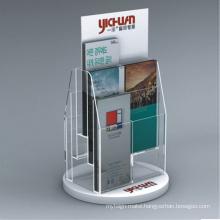 Acrylic Brochure Holder Display Stand