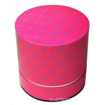 Large Customized Round Skincare Set Box