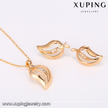 64428 Xuping Fashion Hot Sale 18K Gold Plated Jewelry Sets With 2 PCS