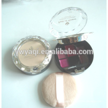 round compact powder case compact powder packaging