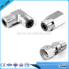 Stainless steel butt weld elbow pipe fitting