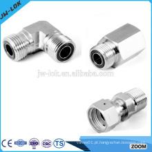 Conexão de tubo de cotovelo de solda de extremidade de aço inoxidável