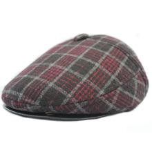 Benutzerdefinierte hohe Qualität Gatsby Cap / Golf Cap / flache Kappe / IVY Cap