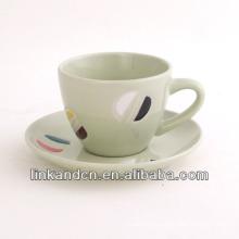 KC-03005new fancy tea cup with saucer,high quality coffee cup mug