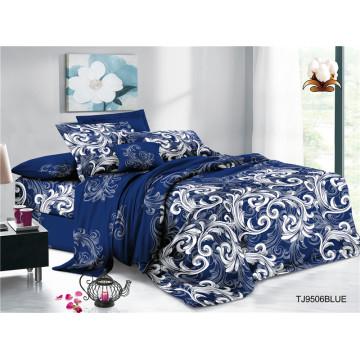 Ensembles de couvre-lit à fleurs vintage à imprimé pigmenté