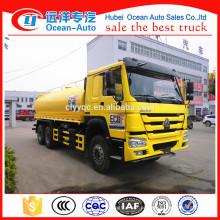 Caminhão de tanque de água de Sinotruk Howo 18 CBM
