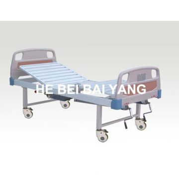 A-192 Cama de hospital manual de duas funções