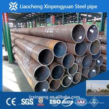Round laminé à chaud industriel ASTM A106B tube en acier sans soudure
