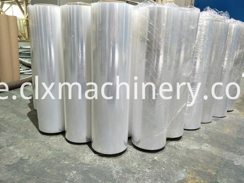 strech film wrapping peduction line