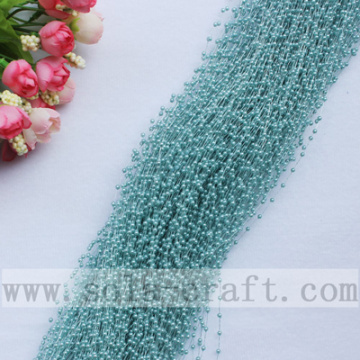 Populaire 3MM acrylaat parel kwast trimmen Beaded Garland