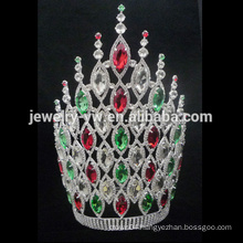 Girl plastic rhinestone princess crown hair band Wholesale Tall Pageant Crowns And Tiaras
