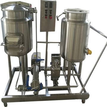 2 recipientes 50L acero inoxidable Nano Homebrewery