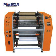 Machine de rembobinage manuel et de refendage de feuilles d'aluminium RW-500 (semi-automatique)