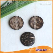 Boutons de noix de coco naturels pour vêtement BN8046