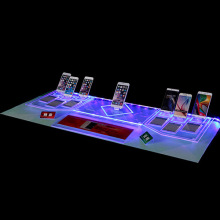 LED Light Stand Bases para acrílico Mobile Phone Display Wholesale