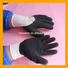 Schwarz Industrie CE EN388 Latex Hand Handschuhe